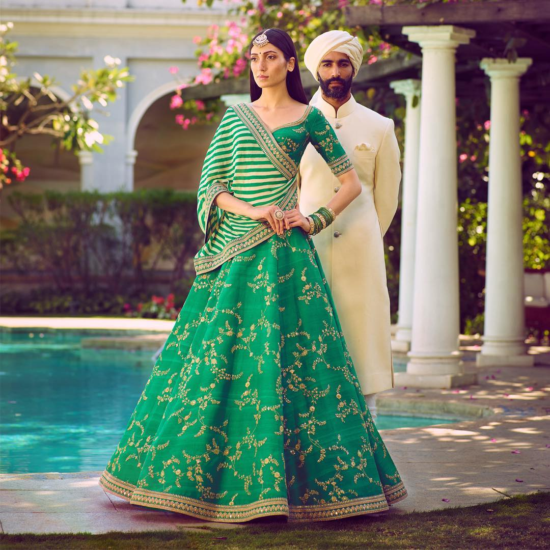 73203f4e0 7 Wedding Trends from Sabyasachi s Spring-Summer Collection 2018