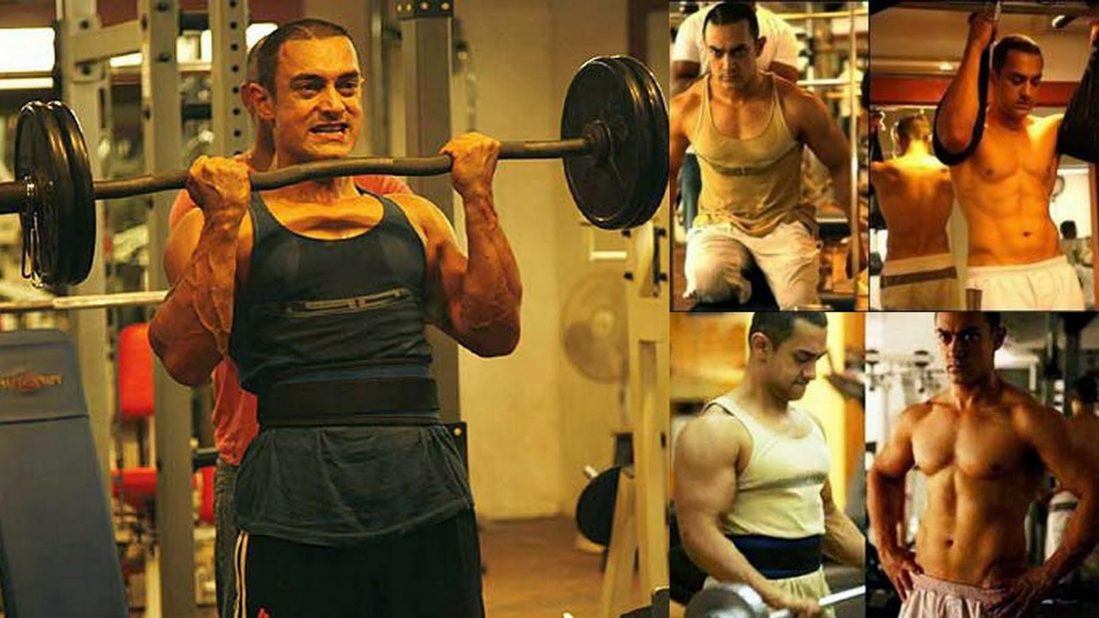 Aamir khan fitness routine
