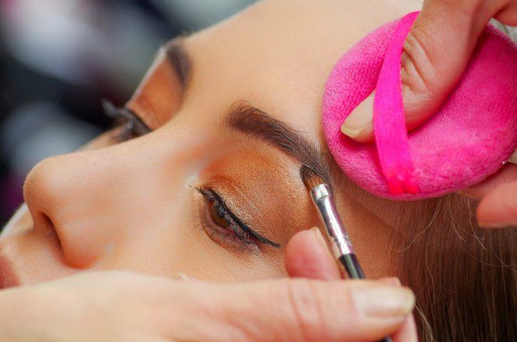 drawing eyebrows