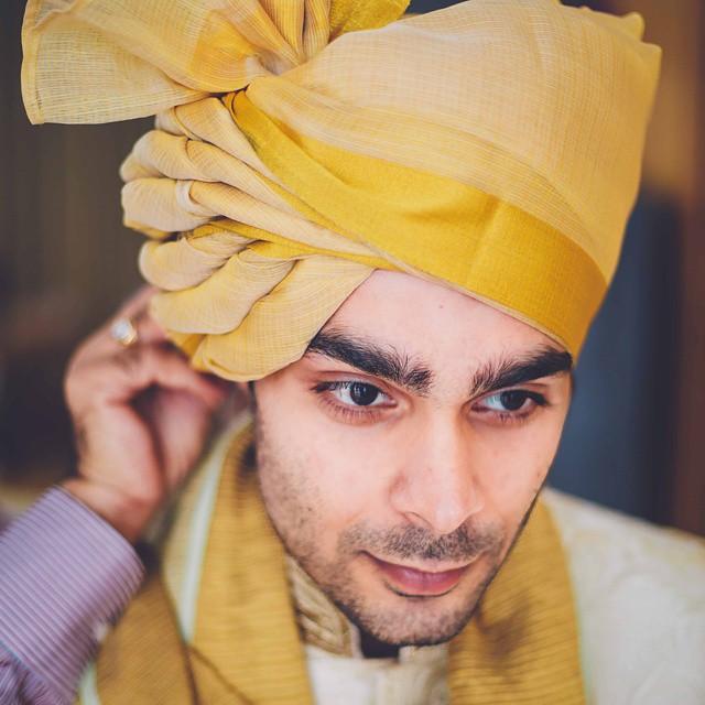 Gold Pheta for wedding