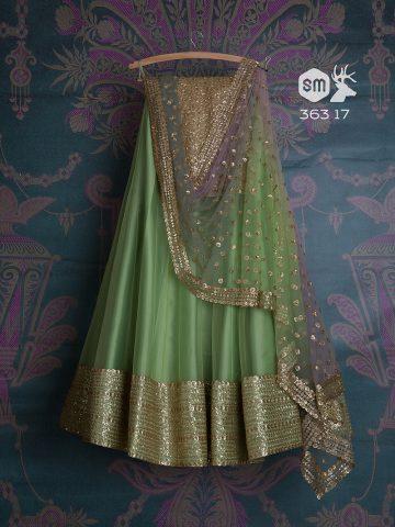Bridesmaid - Green lehenga
