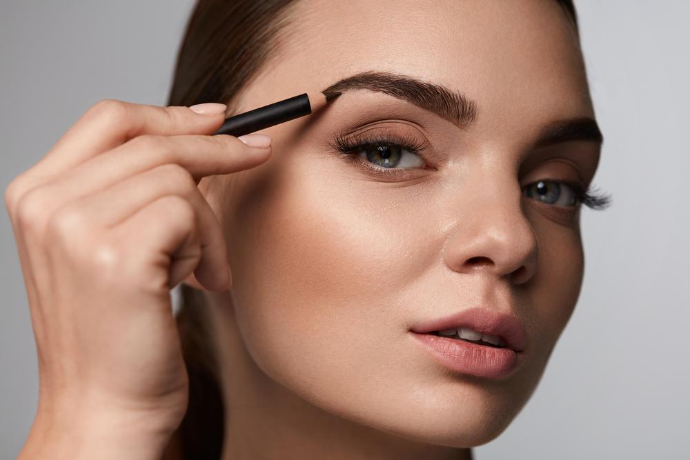 Eyebrow ending shape