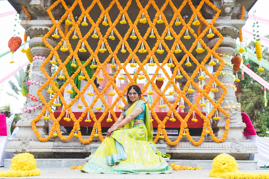 Mehndi function photography