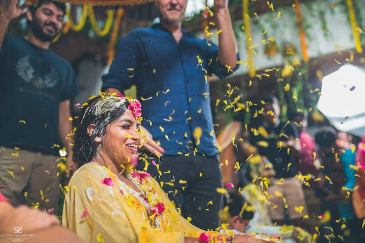 Bride's Haldi Ceremony