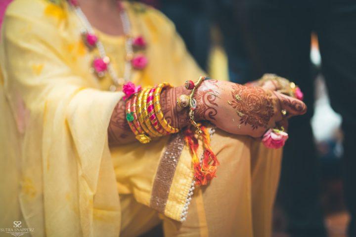 Haldi ceremony- Candid shots