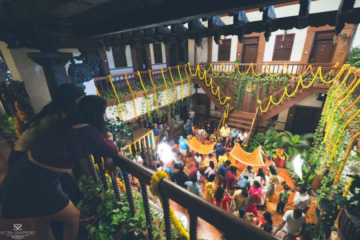 Haldi function- Wedding Decor