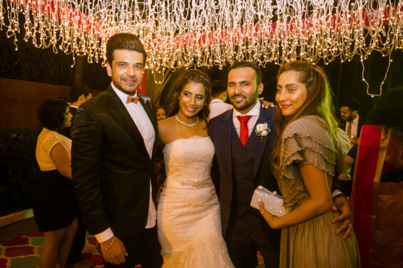 wedding guests photography-mtv stars