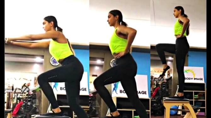 deepika dancing workout