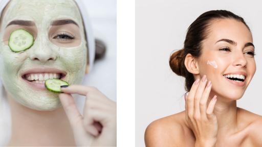 face pack & moisturisers