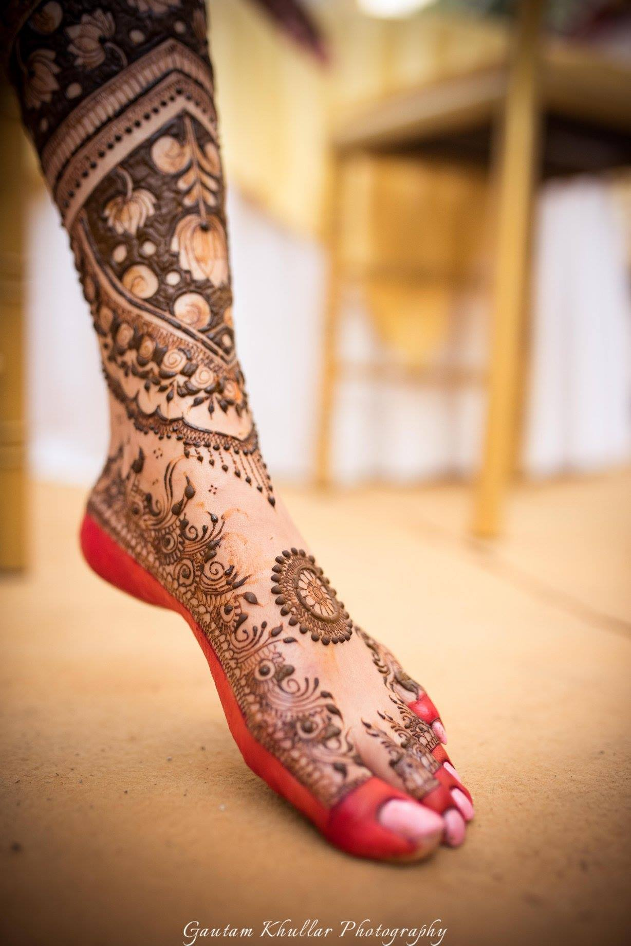 30 Beautiful Feet Leg Mehendi Designs For The 2018 Bride