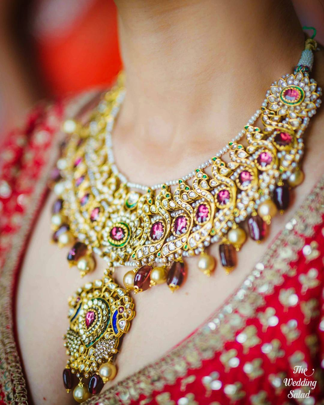 Bridal Princess Necklace- Bridal Jewellery
