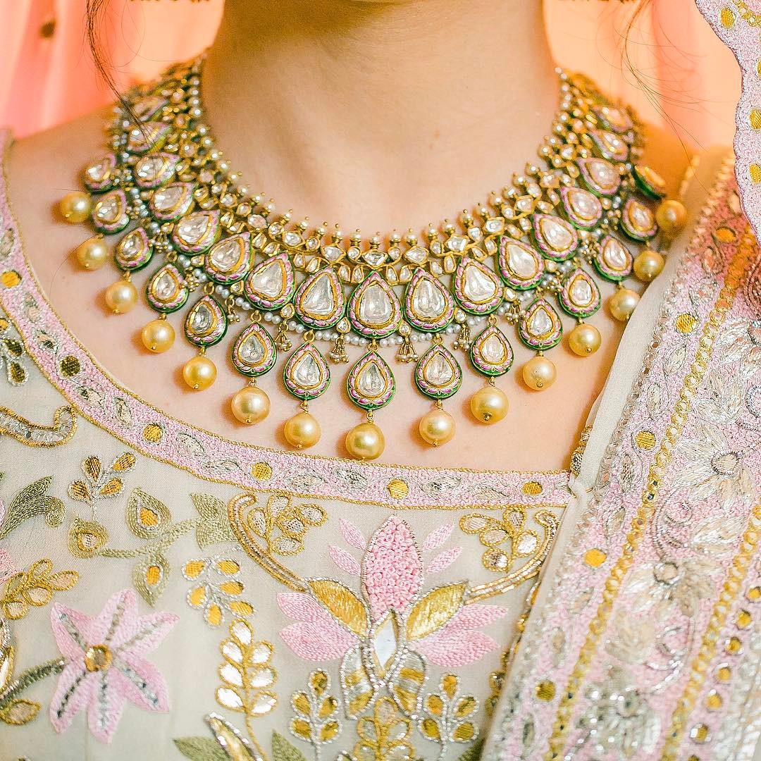 Names Of 9 Popular Bridal Necklace Types For Indian Brides