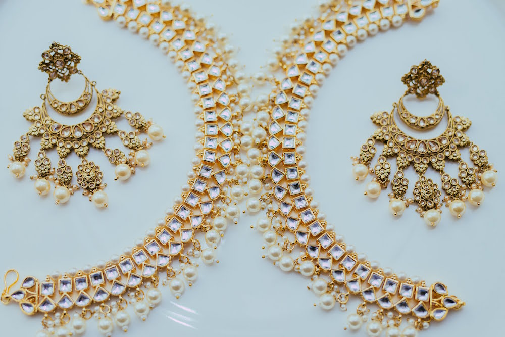 Pearl Earings for Indian Brides- Bridal Jewellery