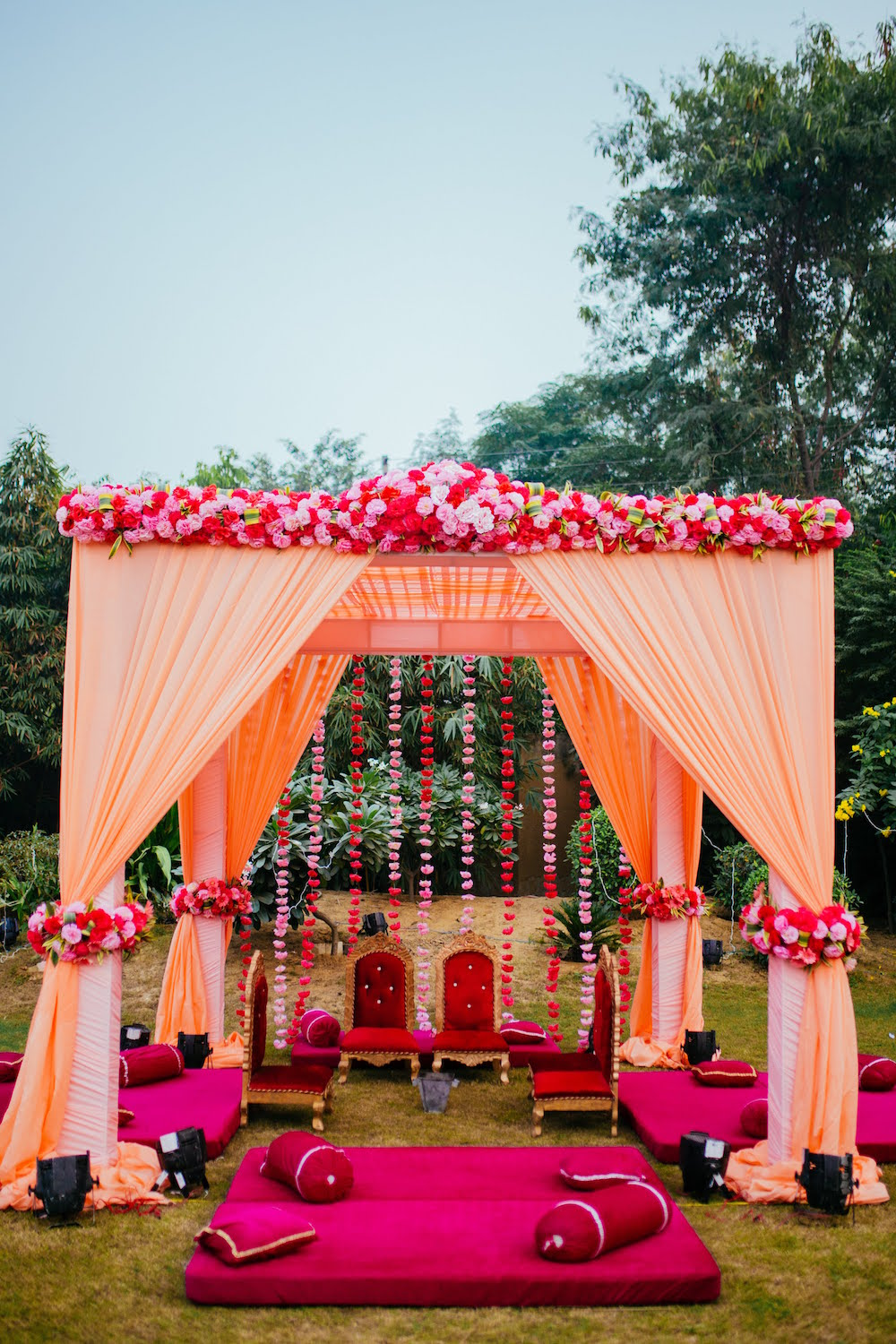 Mandap Decor- Indian Wedding Decor