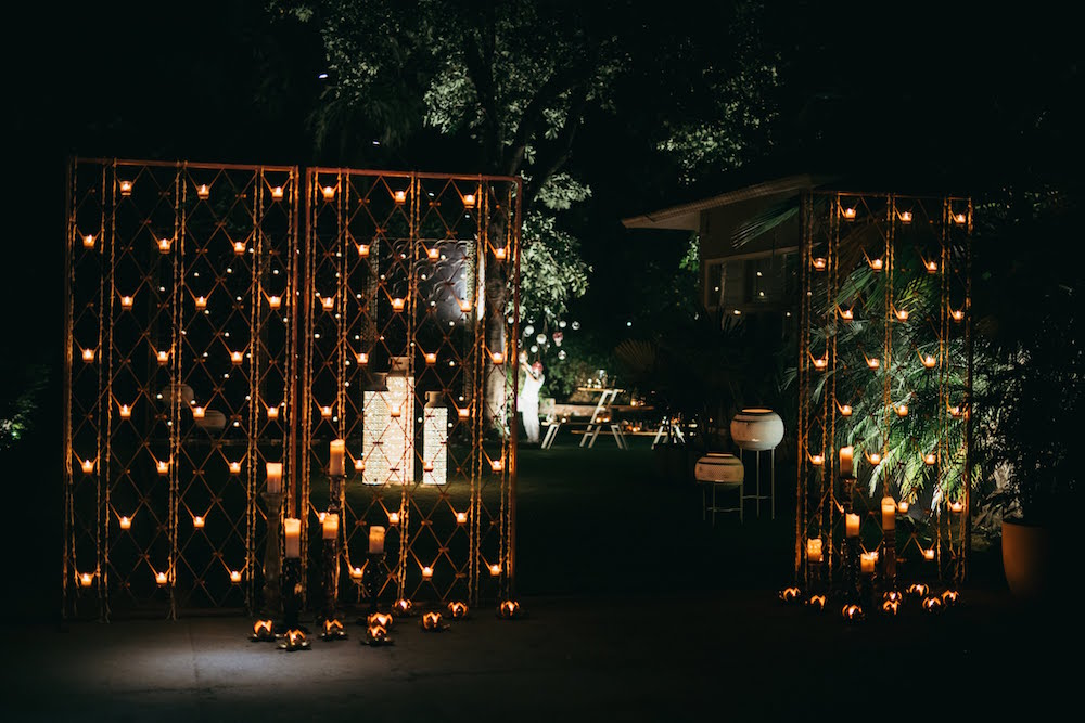 Reception Decor for Indian Weddings- Entrance Decor