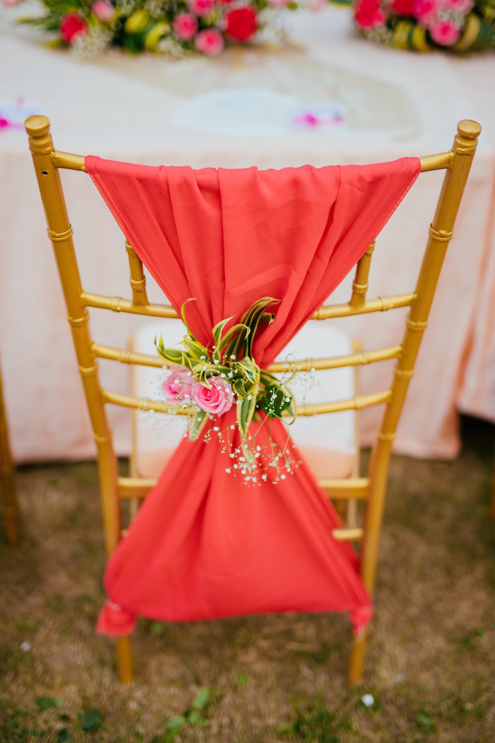 Wedding Chair Decor- Indian Wedding Decor