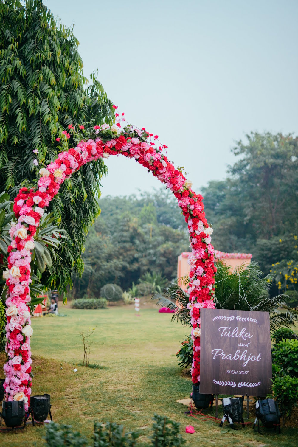 Wedding Entrance- Indian Wedding Decor