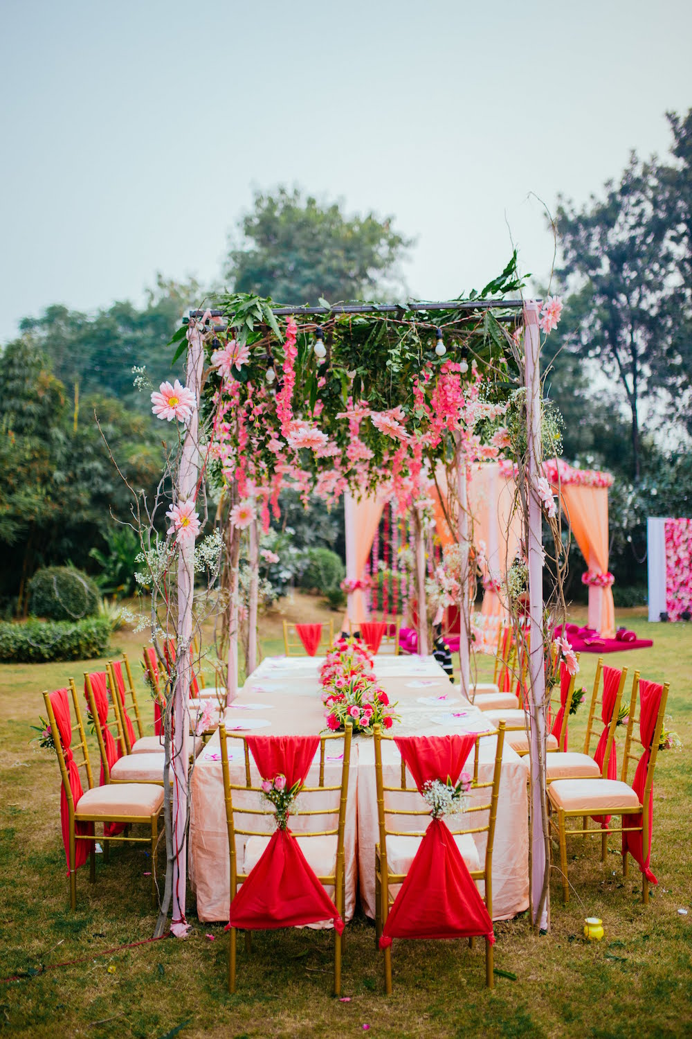 Wedding Table Decor- Indian Wedding Decor