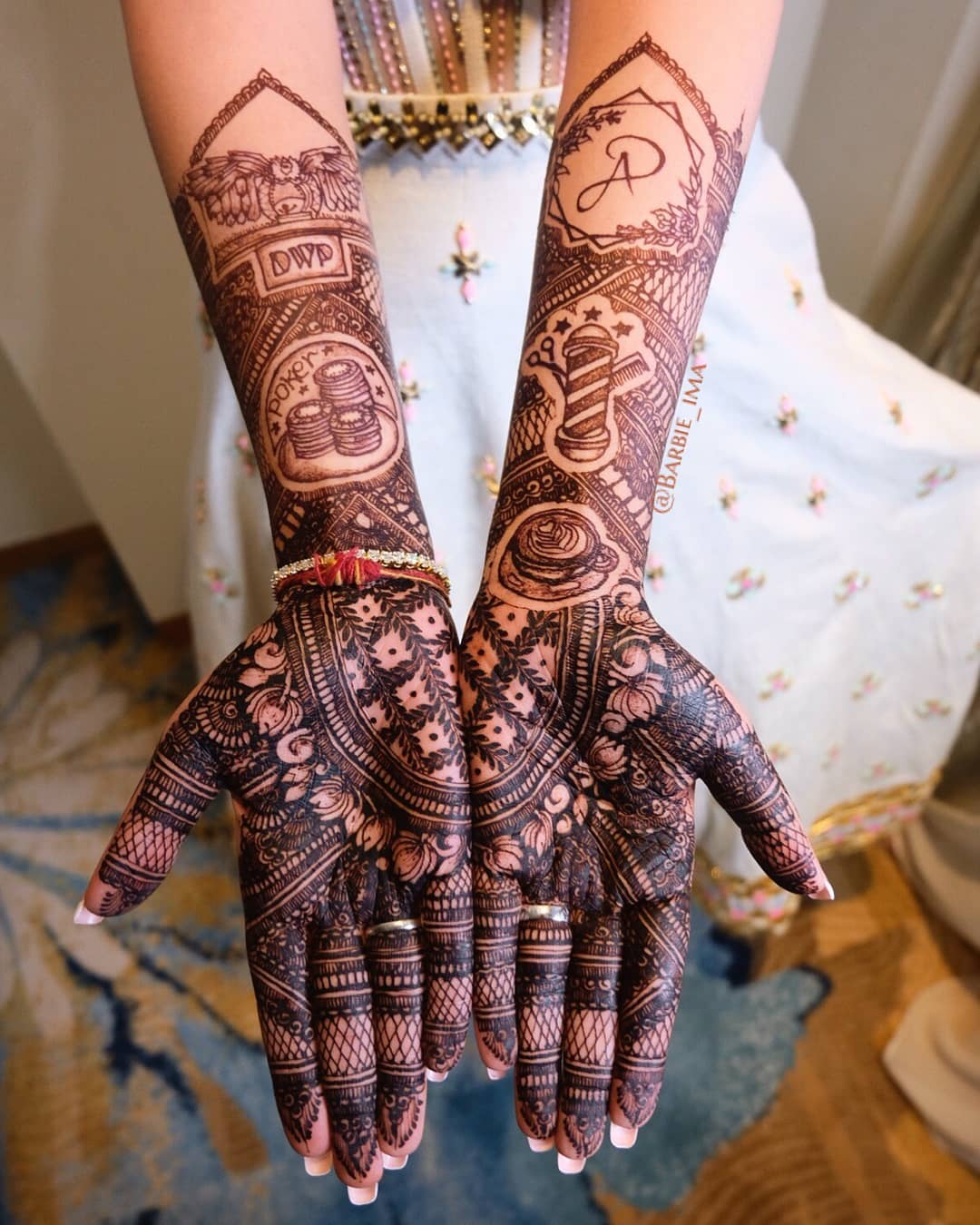 35 Modern Bridal Mehndi Design Ideas For Your 2018 Wedding