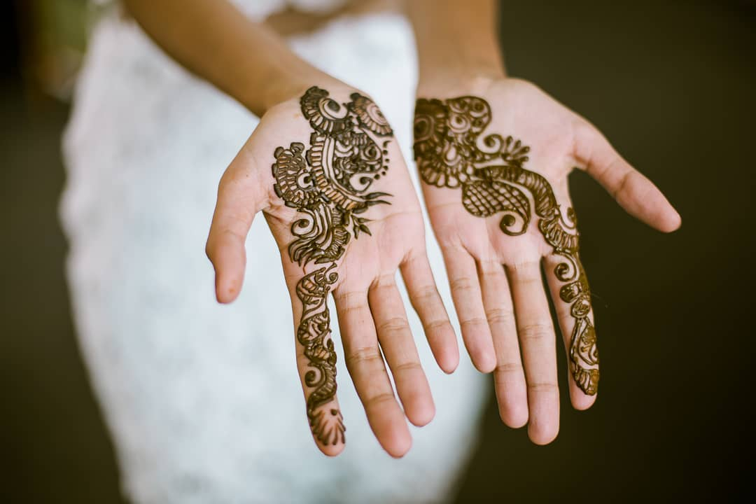 40 Simple Bridal Mehendi Designs For The Brides Hands Front Back