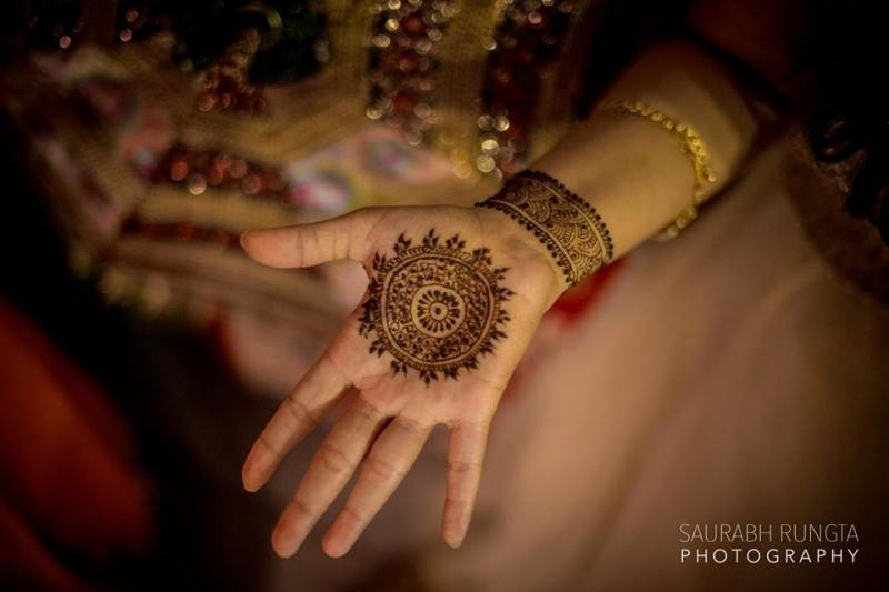 40 Simple Bridal Mehendi Designs For The Bride S Hands Front Back