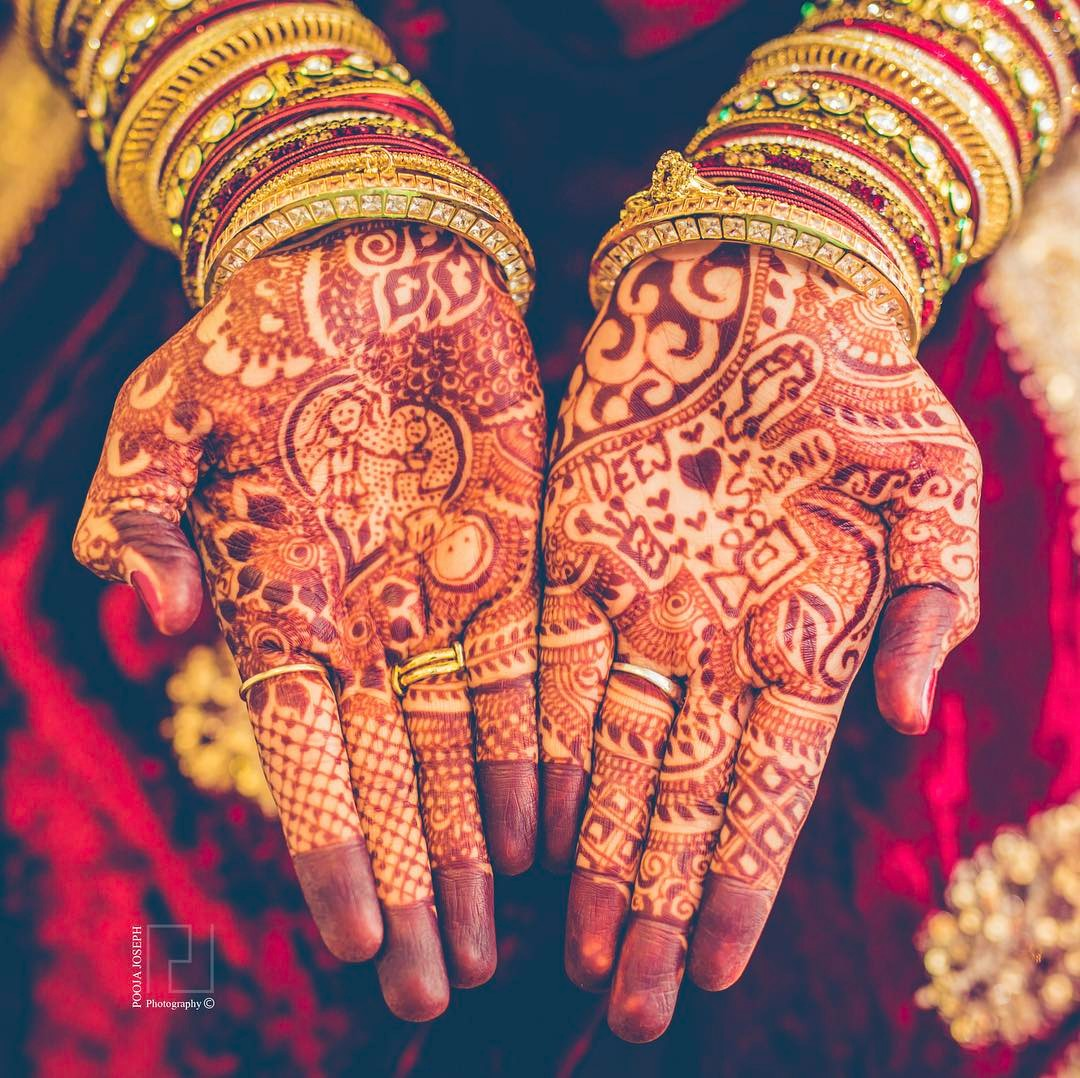 latest bridal mehandi designs - trend