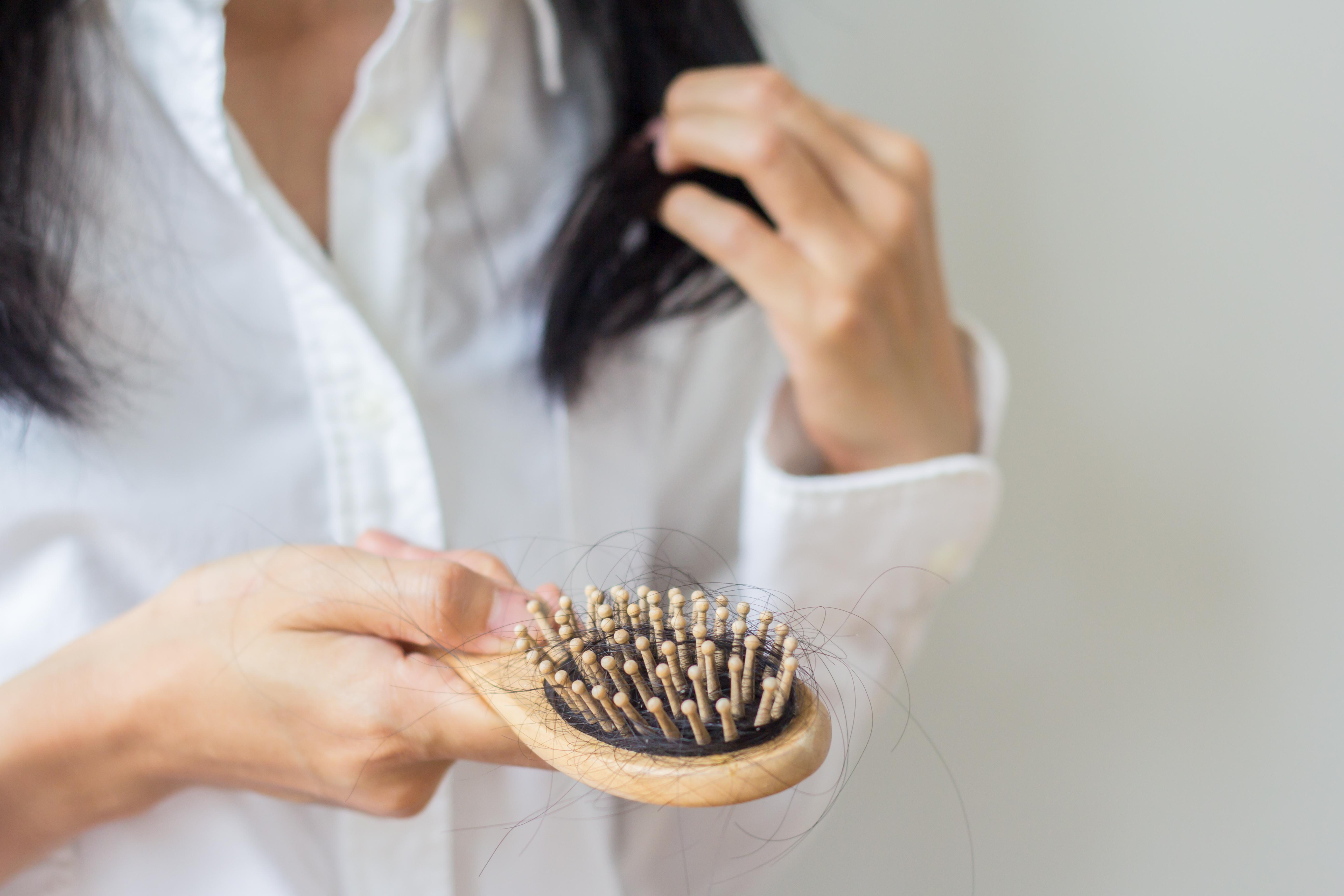 reduce hair hall