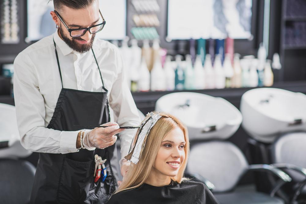 professional hair salon