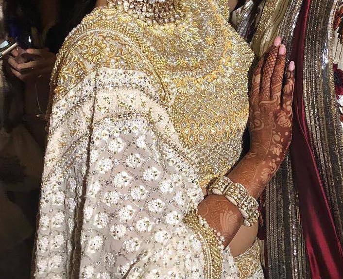 Sonam Kapoor's bridal mehendi design by Veena Nagda