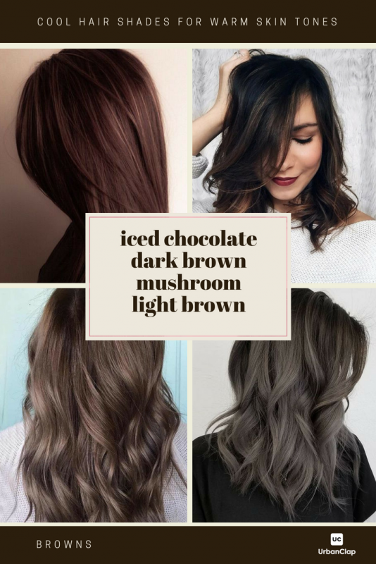 How To Choose The Best Hair Colour From Hair Colour Charts The Urban Guide