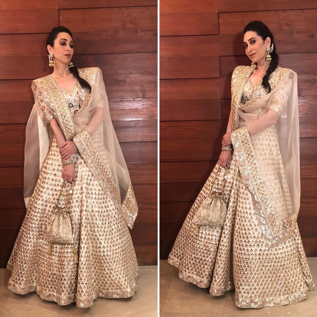 Lehenga Choli Designs from Karisma Kapoor's Collection that were made to stand out! - BridalTweet Wedding Forum & Vendor Directory