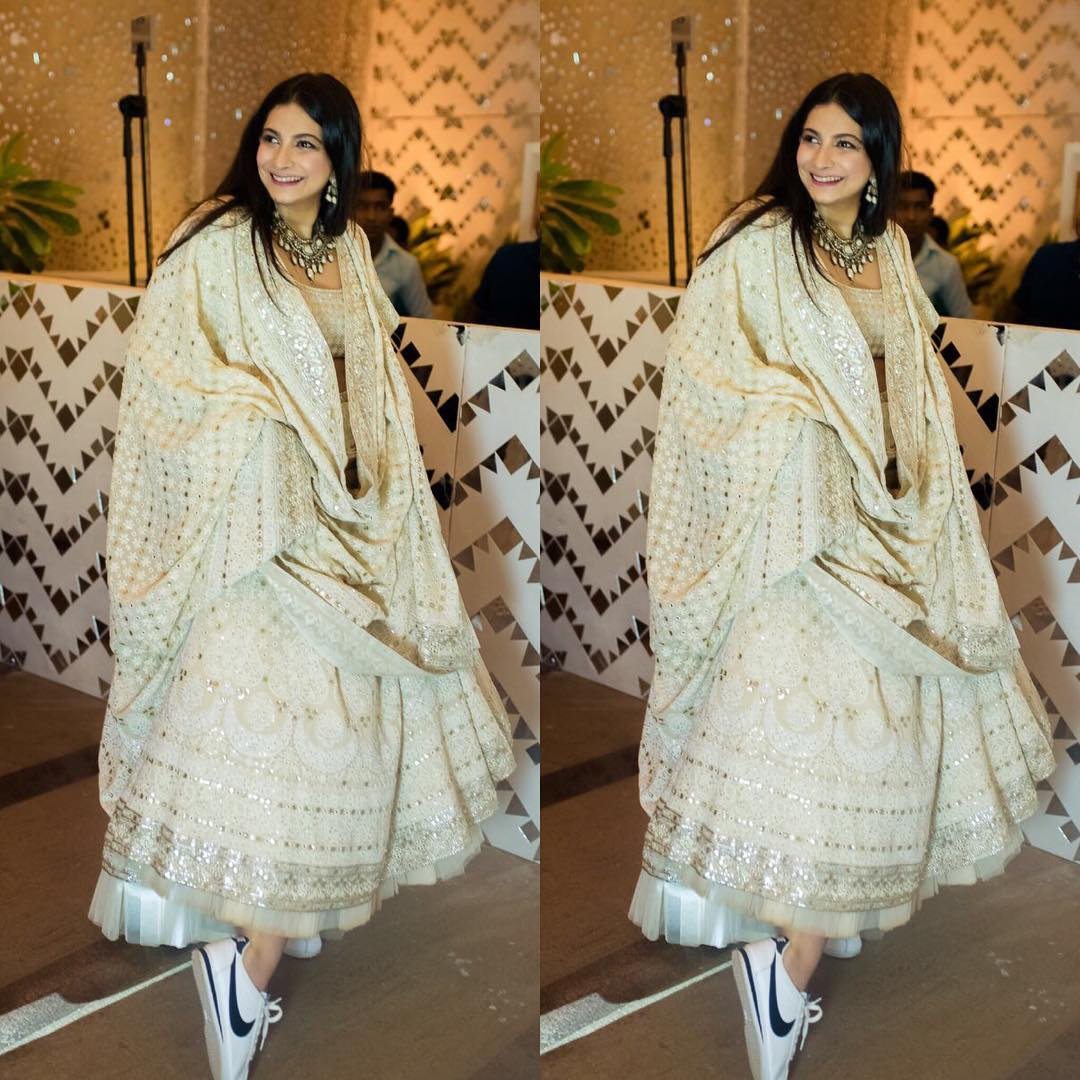 10 Best Celebrity Wedding Guest Dresses Indian: 16 Bride-Worthy Outfits We Spotted On Celebs At Sonam