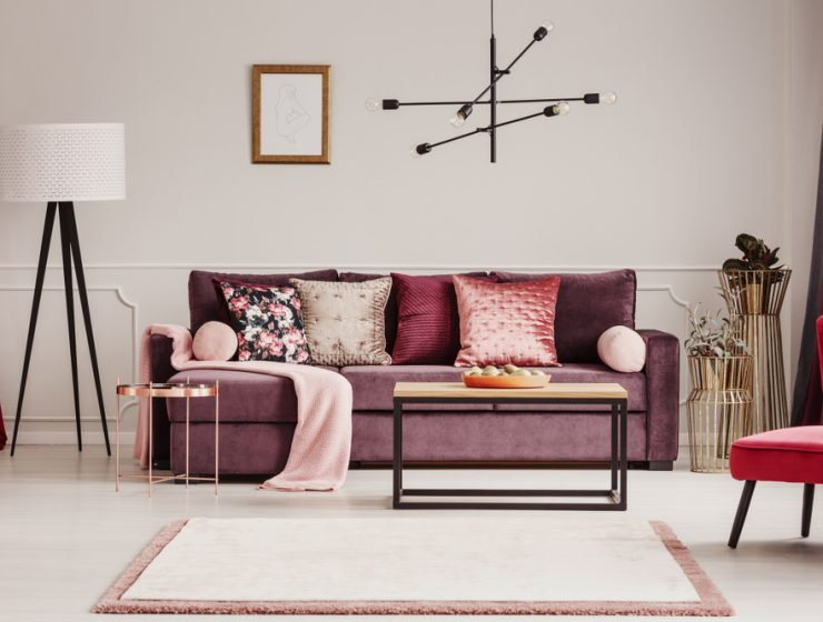 statement sofa set