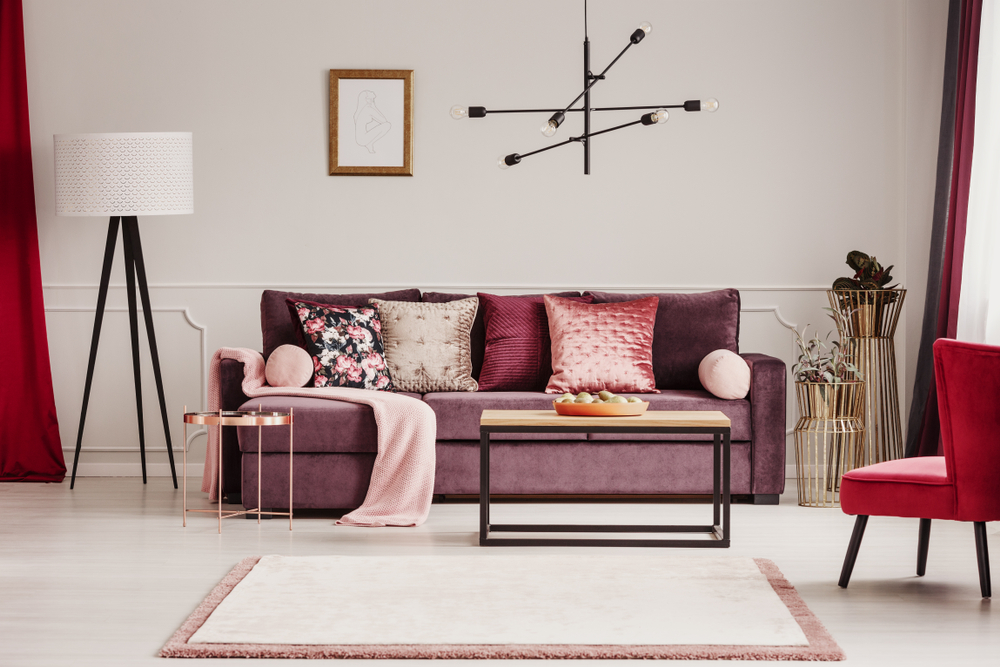statement sofa set