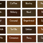 hair color chart skin tone