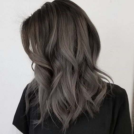 ash brown hair color shade