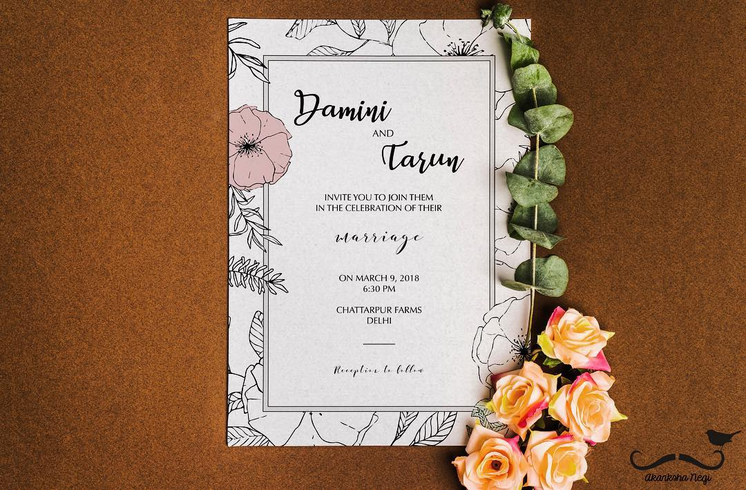 Wedding Card Invitation Messages: The Best Wedding Invitation Wording Ideas For Friends