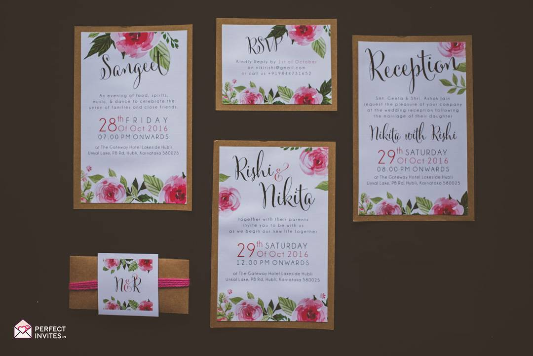 Indian Wedding Invitation Wording For Friends Card: Indian Wedding Invitation Wording In English: What To Say