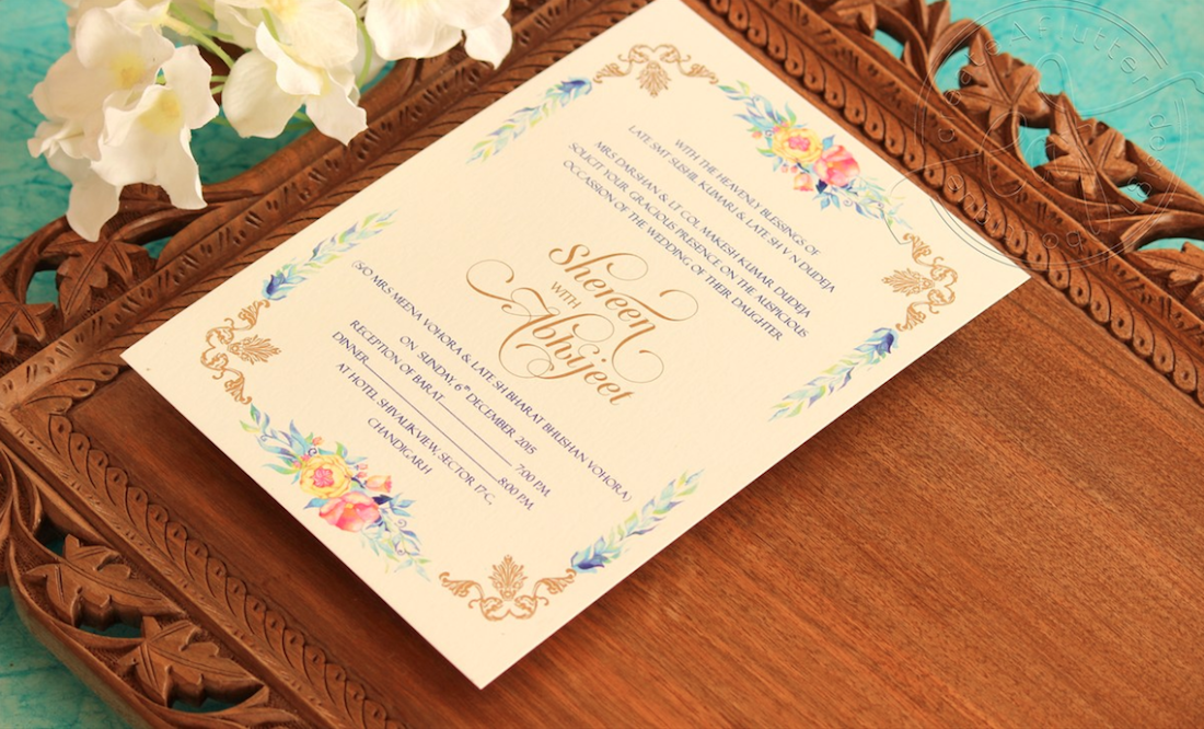 Wedding Invitation Workding: Indian Wedding Invitation Wording In English: What To Say