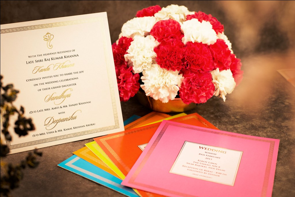 Indian wedding invitation wording in english what to say guide indian wedding invitation wording thats modern with grandparents in host line stopboris Choice Image