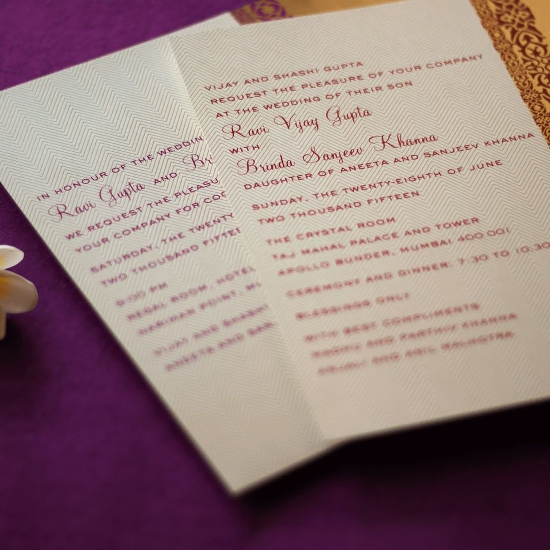 18+ Unique & Creative Wedding Invitation Ideas for your 2018 Shaadi!