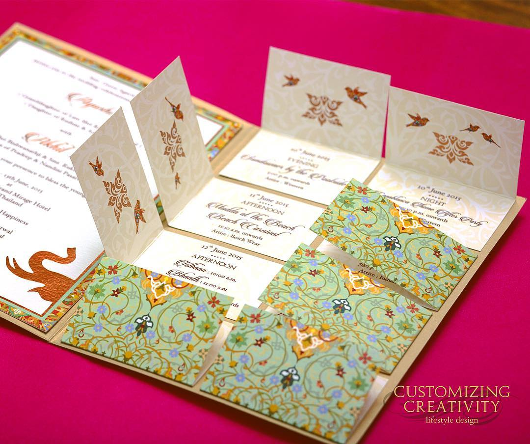 25 Creative Unique Wedding Invitations For Your 2019 Shaadi The Urban Guide