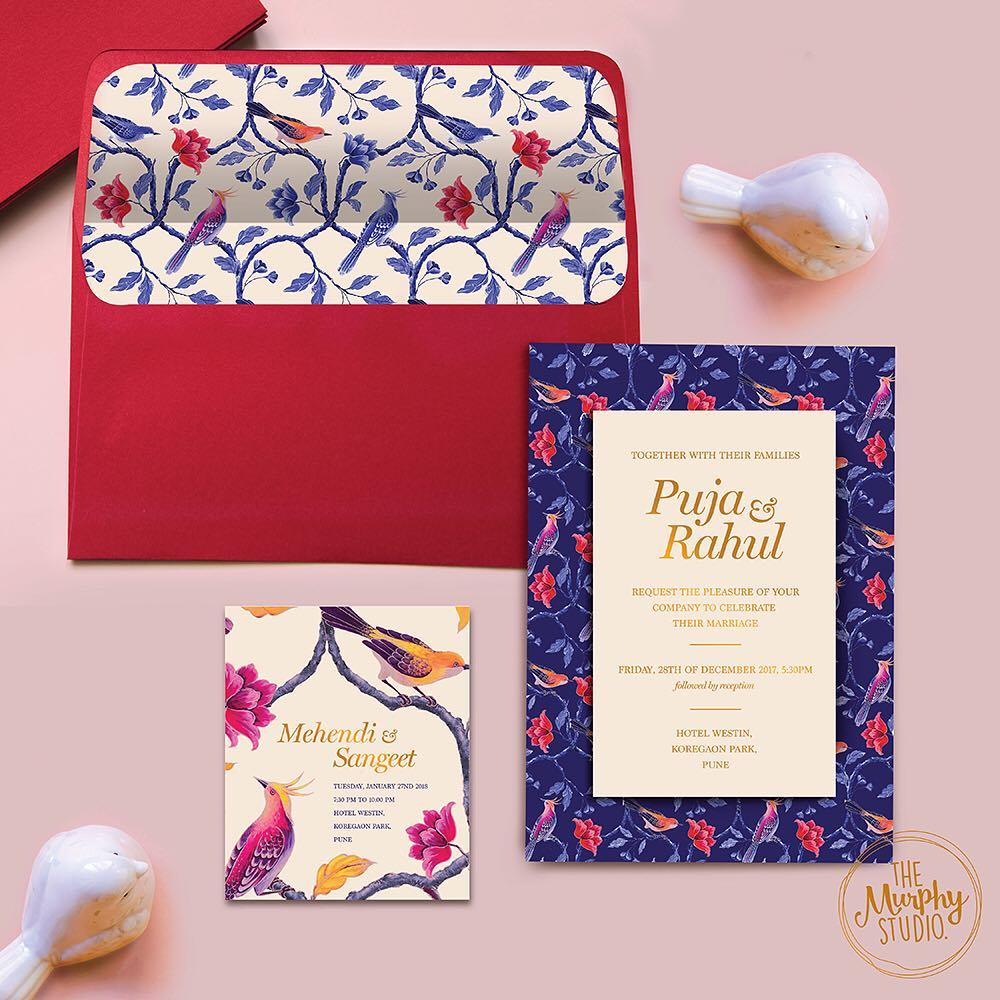 10+ Easy Ways To Make Your Wedding Card Design Memorable in 2018!