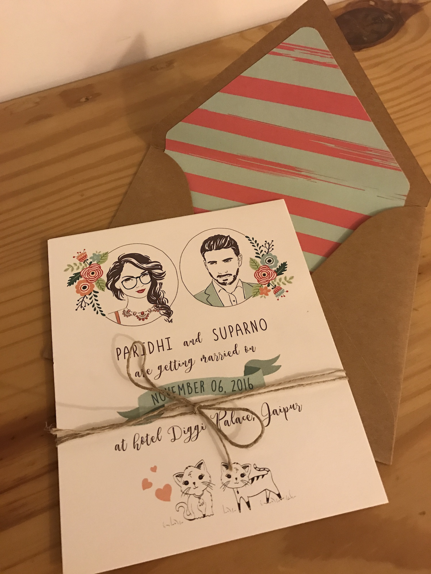 4 Creative & Unique Wedding Invitations for your 4 Shaadi