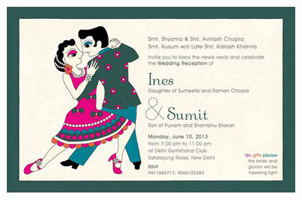 Wedding Invitation Wording No Gifts