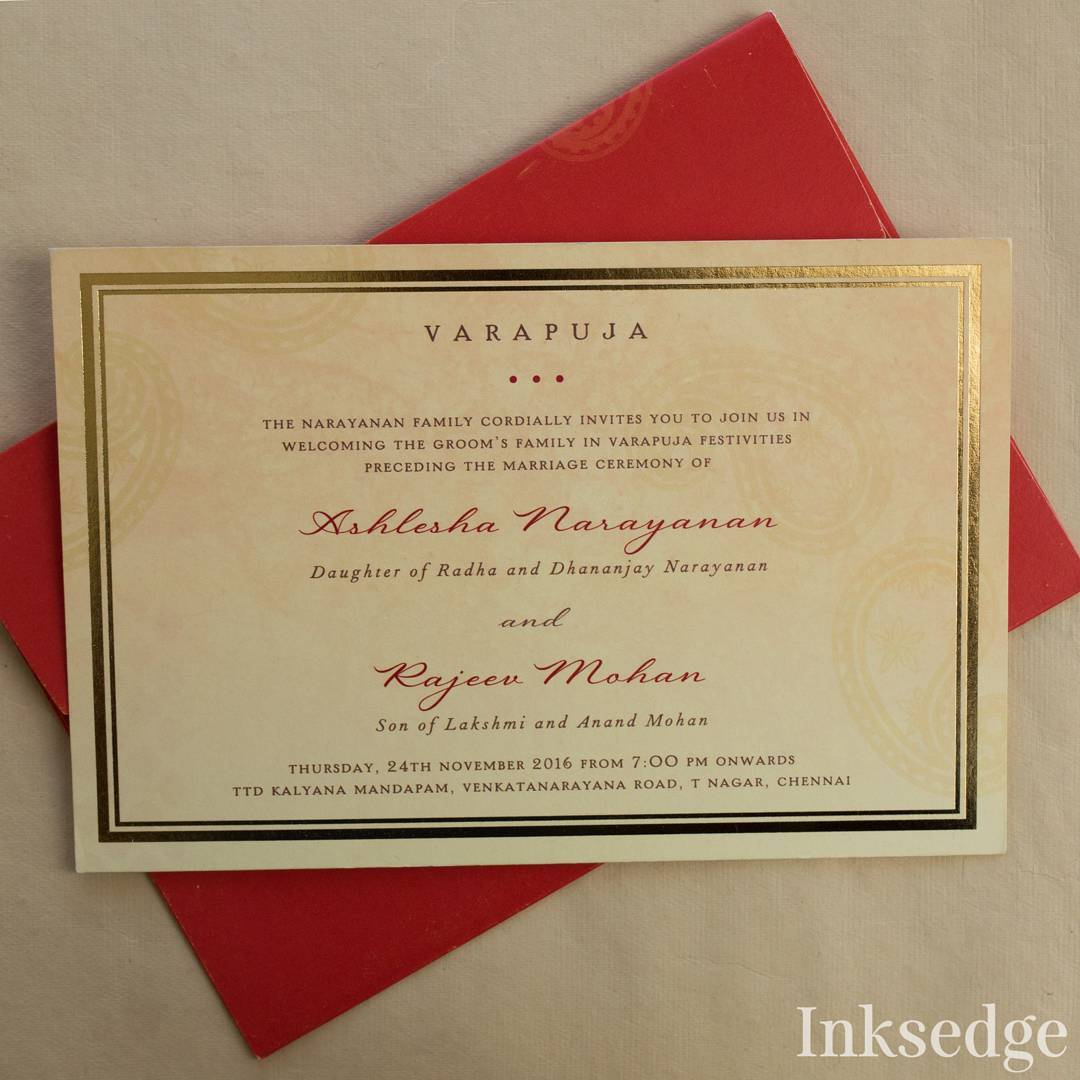 a7f0b03579 Wedding Invite Wordings for All Functions, Including Reception & Sangeet