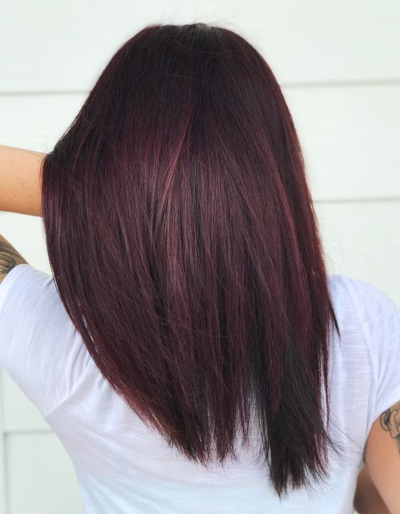 13 Burgundy Hair Color Shades For Indian Skin Tones The Urban Guide