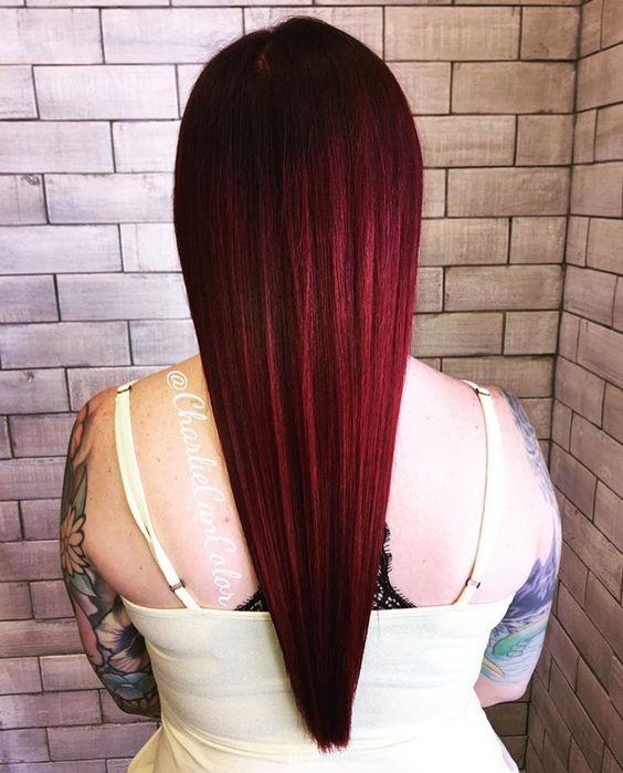 red velvet red hair color shade