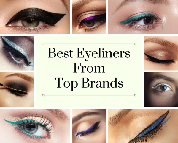 Best Eyeliners From Top Brands in India
