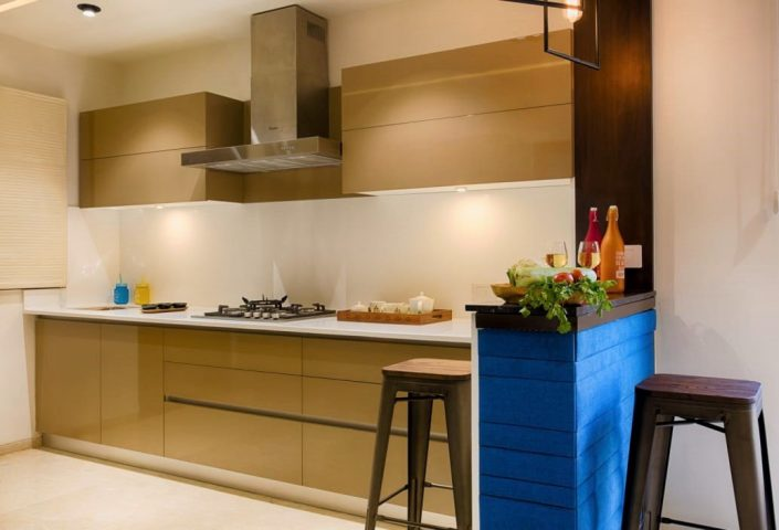 2 ensure that the cabinets are smooth streamlined modern small kitchen design - Small Kitchen Design Ideas 2